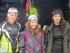 L'équipe 2 avec Elise, Aélia et Mathilde