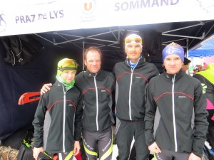l'équipe 2 avec Noé, Vincent, Romain et Léon.