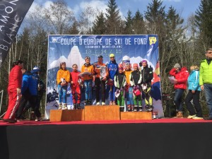 Margot Guillaumot 10ème au classement général.